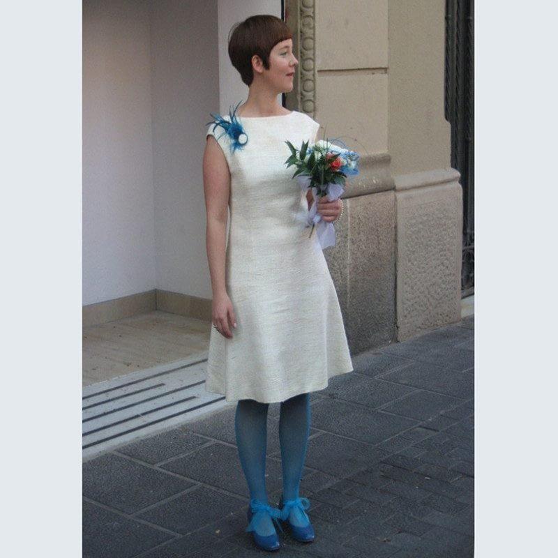 Vestido de novia personalizado CRISTINA SAURA.